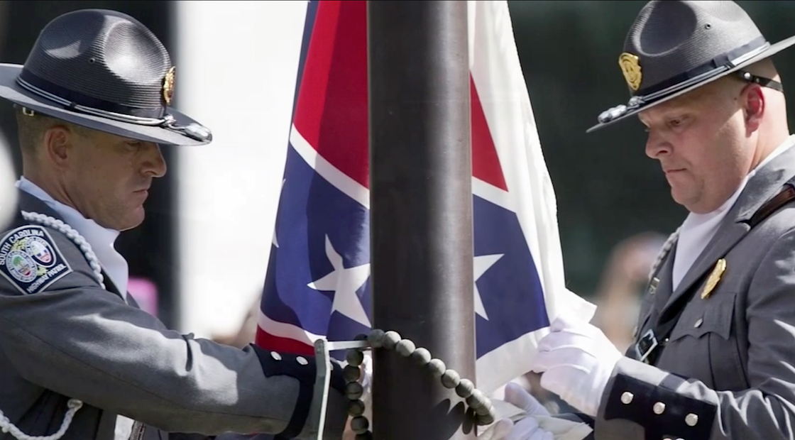 Image Courtesy of NBC News http://www.nbcnews.com/storyline/confederate-flag-furor/watch-live-confederate-flag-removed-south-carolina-capitol-n389896