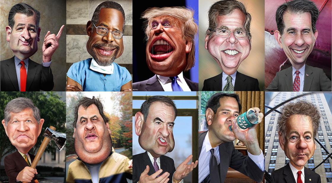 Sepaking and the Republican Debate